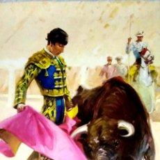 Carteles Toros: LAMINA. ESCENAS TAURINAS. BALLESTAR.. Lote 154862310