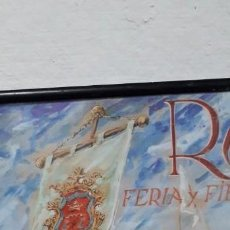 Carteles Toros: CARTEL DE CORRIDAS GROTESCAS 50 ANIVERSARIO. Lote 155716102