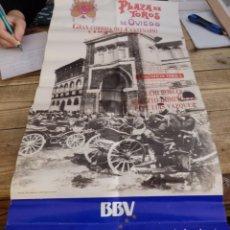Carteles Toros: OVIEDO,1989, CARTEL CENTENARIO PLAZA DE TOROS, ROBERTO DOMINGUEZ,JULIO ROBLES Y PEPE LUIS VAZQUEZ. Lote 156599278