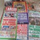 Carteles Toros: 45 CARTELES DE PLAZAS DE TOROS ,DISTINTAS PLAZAS Y AÑOS DISTINTOS, VER 12 FOTOS . Lote 159097726