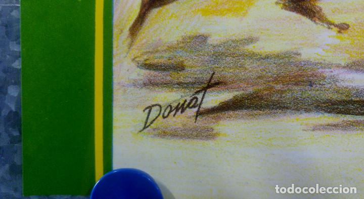 Carteles Toros: BONITO CARTEL TOROS. ILUSTRADOR DONAT - TOROS REJONEADOR - LITOGRAFIA - Foto 4 - 159232514