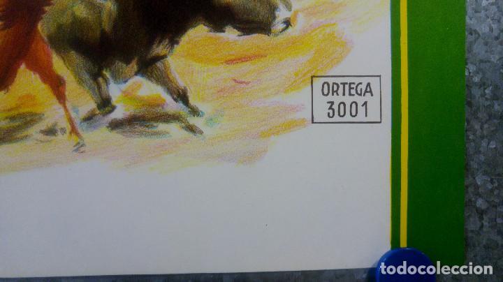 Carteles Toros: BONITO CARTEL TOROS. ILUSTRADOR DONAT - TOROS REJONEADOR - LITOGRAFIA - Foto 5 - 159232514