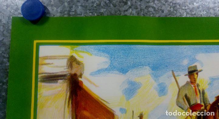 Carteles Toros: BONITO CARTEL TOROS. ILUSTRADOR DONAT - TOROS REJONEADOR - LITOGRAFIA - Foto 7 - 159232514
