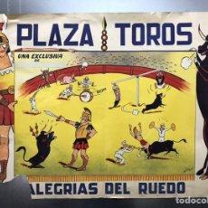 Carteles Toros: CARTEL TOROS - ALEGRIAS DEL RUEDO - AÑOS 1950-60, GRAFIPAPEL CORDOBESA, S.A.. Lote 160147802