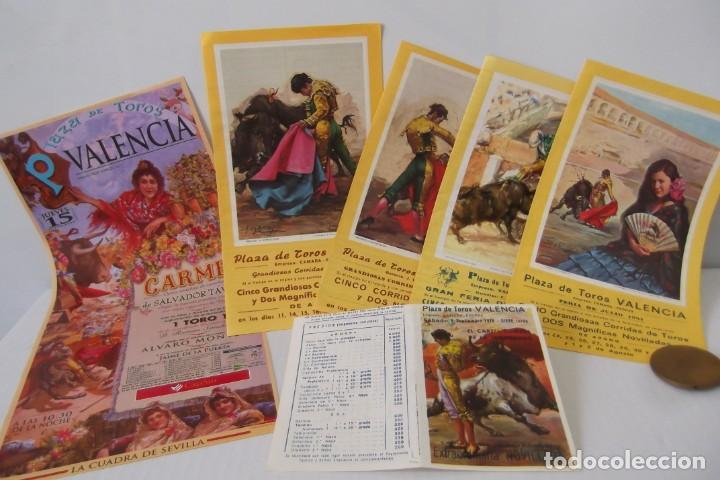 COLECCION- PROGRAMAS DE MANO- TOROS- CARTEL DE -CARMEN _ (Coleccionismo - Carteles Gran Formato - Carteles Toros)