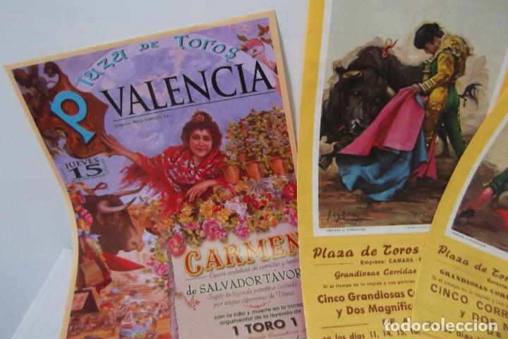 Carteles Toros: COLECCION- PROGRAMAS DE MANO- TOROS- CARTEL DE -CARMEN _ - Foto 2 - 161881922