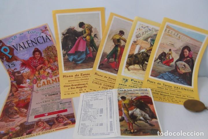 Carteles Toros: COLECCION- PROGRAMAS DE MANO- TOROS- CARTEL DE -CARMEN _ - Foto 3 - 161881922
