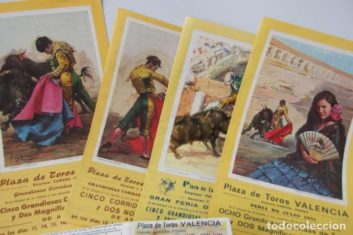 Carteles Toros: COLECCION- PROGRAMAS DE MANO- TOROS- CARTEL DE -CARMEN _ - Foto 4 - 161881922