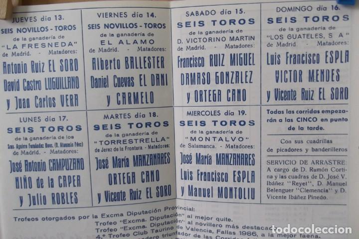 Carteles Toros: COLECCION- PROGRAMAS DE MANO- TOROS- CARTEL DE -CARMEN _ - Foto 8 - 161881922