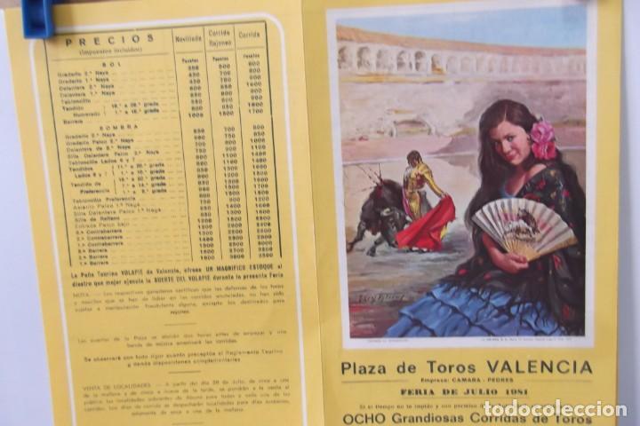 Carteles Toros: COLECCION- PROGRAMAS DE MANO- TOROS- CARTEL DE -CARMEN _ - Foto 9 - 161881922