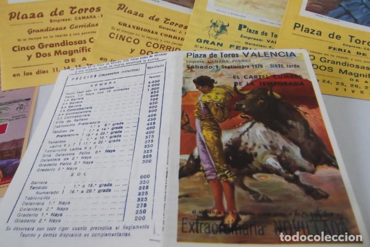 Carteles Toros: COLECCION- PROGRAMAS DE MANO- TOROS- CARTEL DE -CARMEN _ - Foto 11 - 161881922
