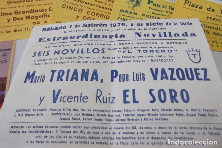 Carteles Toros: COLECCION- PROGRAMAS DE MANO- TOROS- CARTEL DE -CARMEN _ - Foto 12 - 161881922