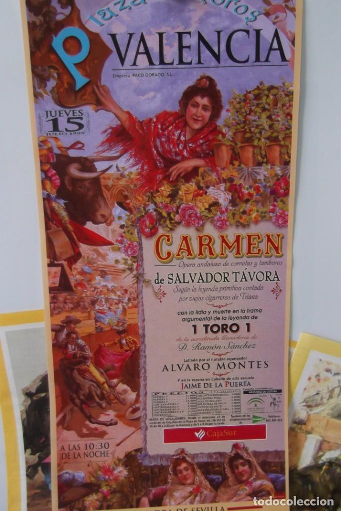 Carteles Toros: COLECCION- PROGRAMAS DE MANO- TOROS- CARTEL DE -CARMEN _ - Foto 13 - 161881922