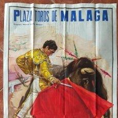Carteles Toros: CARTEL PLAZA DE TOROS DE MALAGA 10 SEPTIEMBRE 1972. Lote 162382734