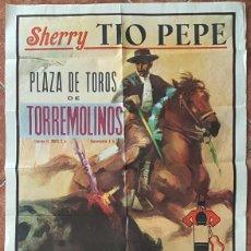 Carteles Toros: CARTEL PLAZA DE TOROS DE TORREMOLINOS DE MALAGA 24 SEPTIEMBRE 1972. Lote 162384198