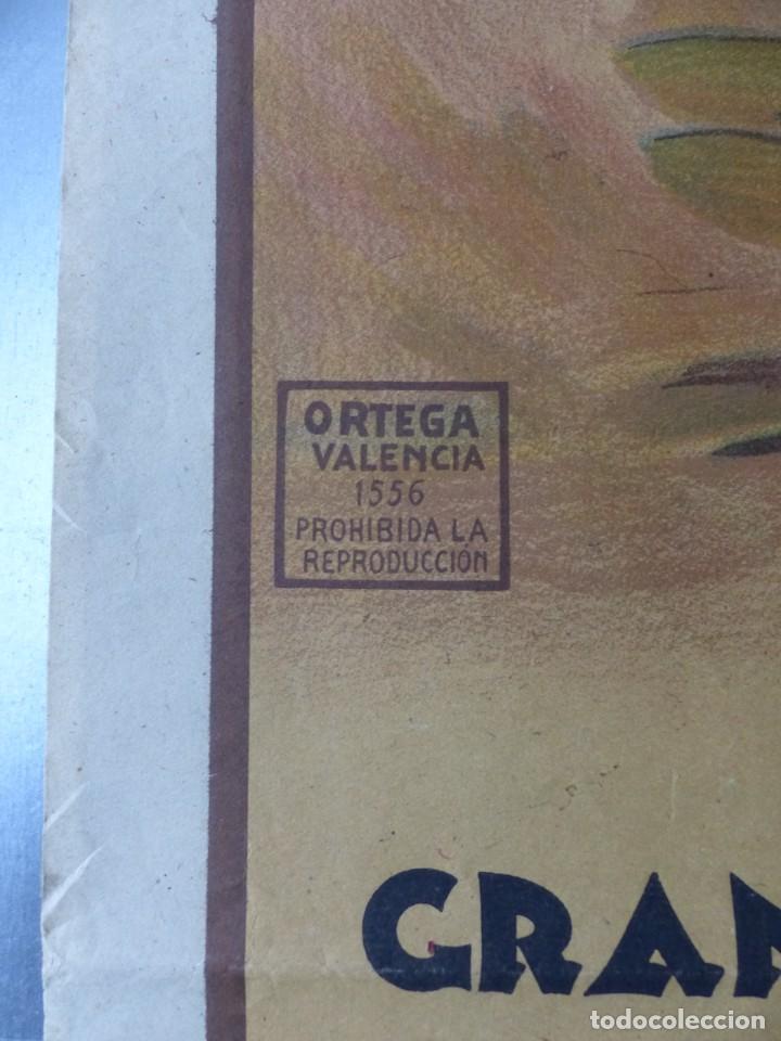 Carteles Toros: CARTEL TOROS CARTAGENA, MURCIA - 14 DE JUNIO DE 1942 - RUANO LLOPIS - LITOGRAFIA - Foto 5 - 168083340