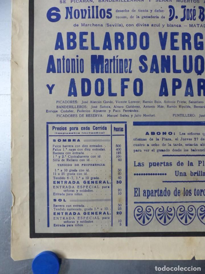 Carteles Toros: CARTEL DE TOROS DE VALENCIA, JUNIO DE 1957 - LITOGRAFIA - RUANO LLOPIS - Foto 2 - 168195436