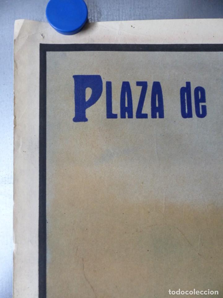 Carteles Toros: CARTEL DE TOROS DE VALENCIA, JUNIO DE 1957 - LITOGRAFIA - RUANO LLOPIS - Foto 4 - 168195436