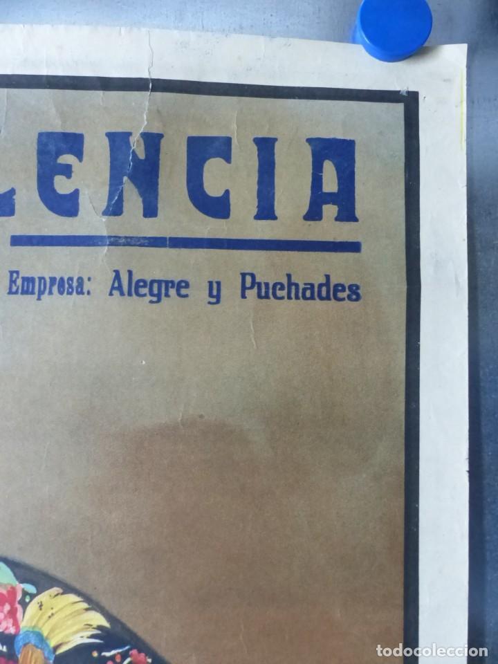 Carteles Toros: CARTEL DE TOROS DE VALENCIA, JUNIO DE 1957 - LITOGRAFIA - RUANO LLOPIS - Foto 5 - 168195436