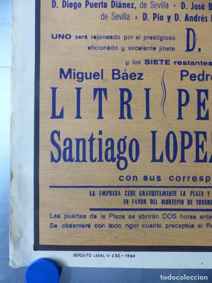 Carteles Toros: CARTEL DE TOROS DE VALENCIA, DICIEMBRE DE 1957 - LITOGRAFIA - RUANO LLOPIS - Foto 3 - 168195996