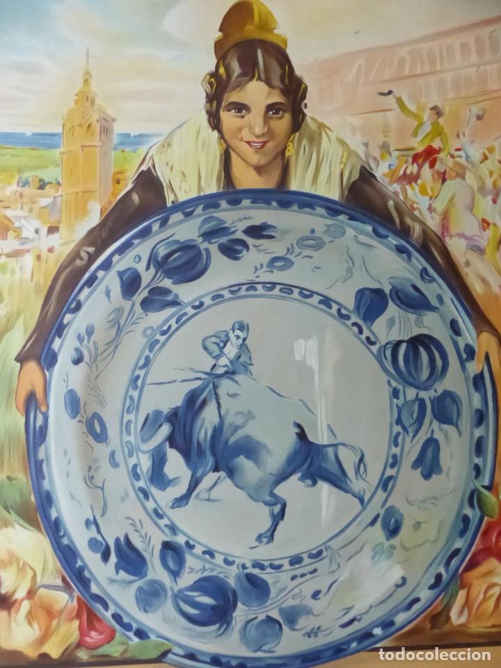 Carteles Toros: CARTEL DE TOROS DE VALENCIA, DICIEMBRE DE 1957 - LITOGRAFIA - RUANO LLOPIS - Foto 8 - 168195996