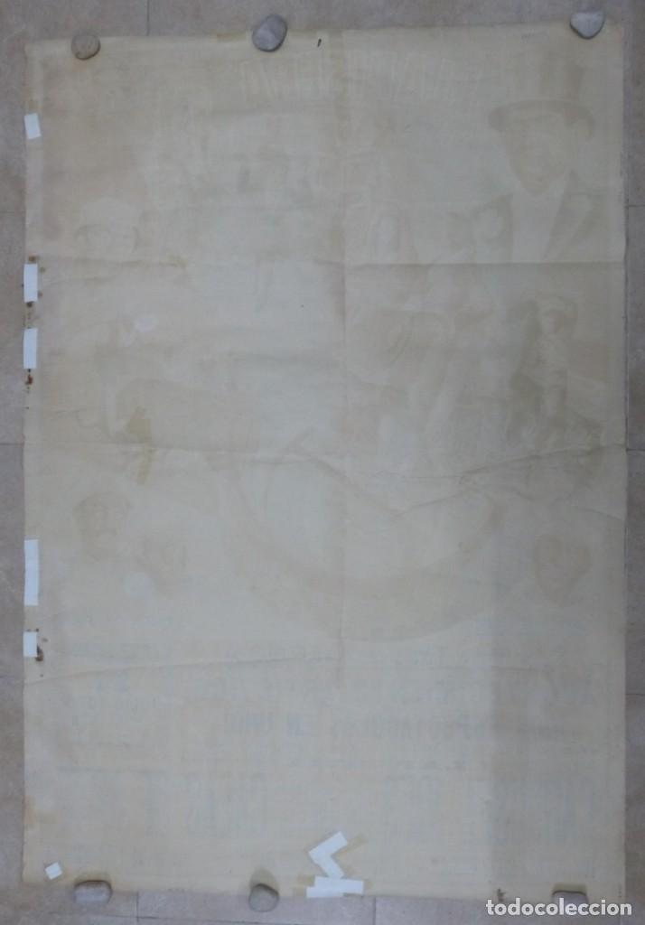 Carteles Toros: CARTEL TOROS - VALENCIA - AÑO 1953, LLAPISERA, CARTEL GRANDE 163X112 CM., DONAT, LITOGRAFIA - Foto 10 - 168216528