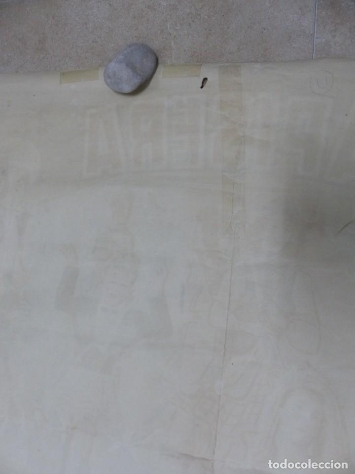 Carteles Toros: CARTEL TOROS - VALENCIA - AÑO 1953, LLAPISERA, CARTEL GRANDE 163X112 CM., DONAT, LITOGRAFIA - Foto 14 - 168216528