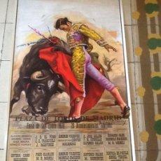 Carteles Toros: PLAZA DE TOROS DE MADRID. SAN ISIDRO 1979. Lote 169903992