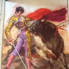 Carteles Toros: PLAZA DE TOROS DE MADRID SAN ISIDRO 1979. Lote 169906384