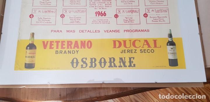 Carteles Toros: Cartel corrida de toros San Isidro Madrid 1966 - Foto 4 - 170076288