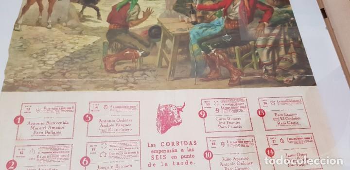 CARTEL CORRIDA DE TOROS SAN ISIDRO MADRID 1966 (Coleccionismo - Carteles Gran Formato - Carteles Toros)
