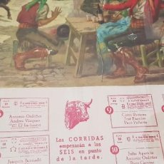 Carteles Toros: CARTEL CORRIDA DE TOROS SAN ISIDRO MADRID 1966. Lote 170076288
