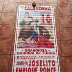 Carteles Toros: GRAN CARTEL DE TOROS AÑO1995 MIDE190×90 CM. Lote 171125598