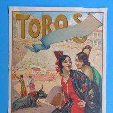 Carteles Toros: CARTEL TOROS - SIN IMPRIMIR - LITOGRAFIA - RUANO LLOPIS. Lote 172171518
