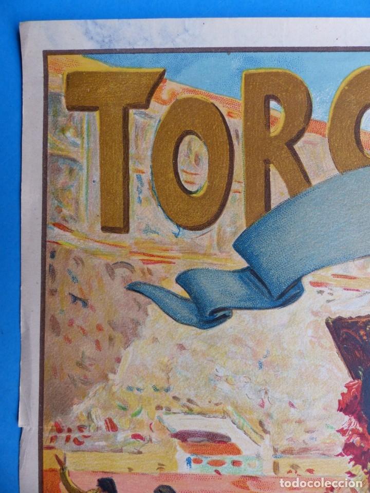 Carteles Toros: CARTEL TOROS - SIN IMPRIMIR - LITOGRAFIA - RUANO LLOPIS - Foto 5 - 172171518