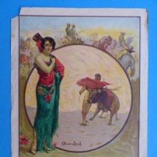 Carteles Toros: CARTEL TOROS - SIN IMPRIMIR - LITOGRAFIA - RUANO LLOPIS. Lote 172172199