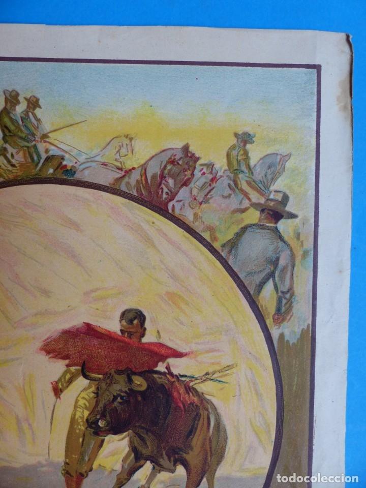 Carteles Toros: CARTEL TOROS - SIN IMPRIMIR - LITOGRAFIA - RUANO LLOPIS - Foto 4 - 172172199