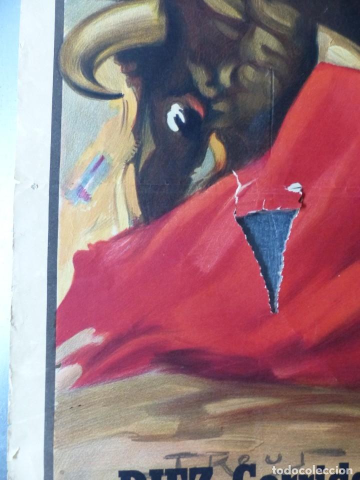 Carteles Toros: CARTEL TOROS - SEVILLA, FERIA ABRIL, AÑO 1964 - J. REUS - Foto 5 - 172220702