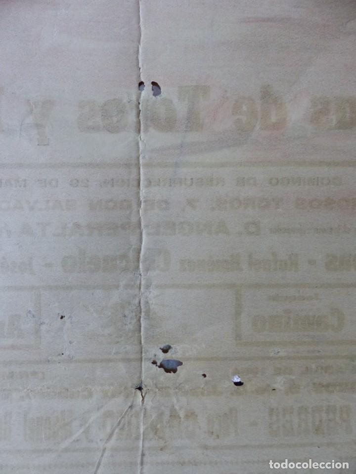 Carteles Toros: CARTEL TOROS - SEVILLA, FERIA ABRIL, AÑO 1964 - J. REUS - Foto 12 - 172220702