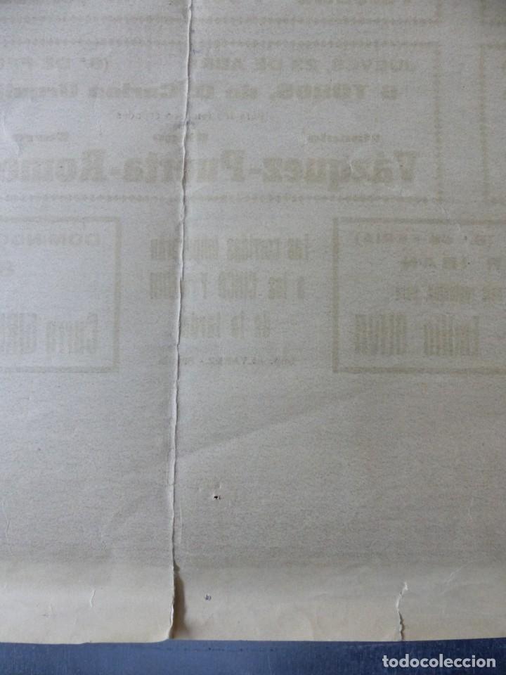Carteles Toros: CARTEL TOROS - SEVILLA, FERIA ABRIL, AÑO 1964 - J. REUS - Foto 14 - 172220702