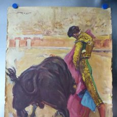 Carteles Toros: CARTEL - STIERKAMPF IN SPANIEN - TOROS EN ESPAÑA, AÑOS 1960 - J. REUS. Lote 172221235