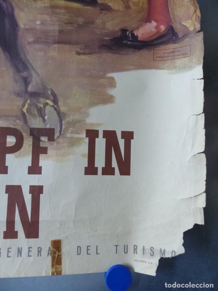 Carteles Toros: CARTEL - STIERKAMPF IN SPANIEN - TOROS EN ESPAÑA, AÑOS 1960 - J. REUS - Foto 2 - 172221235