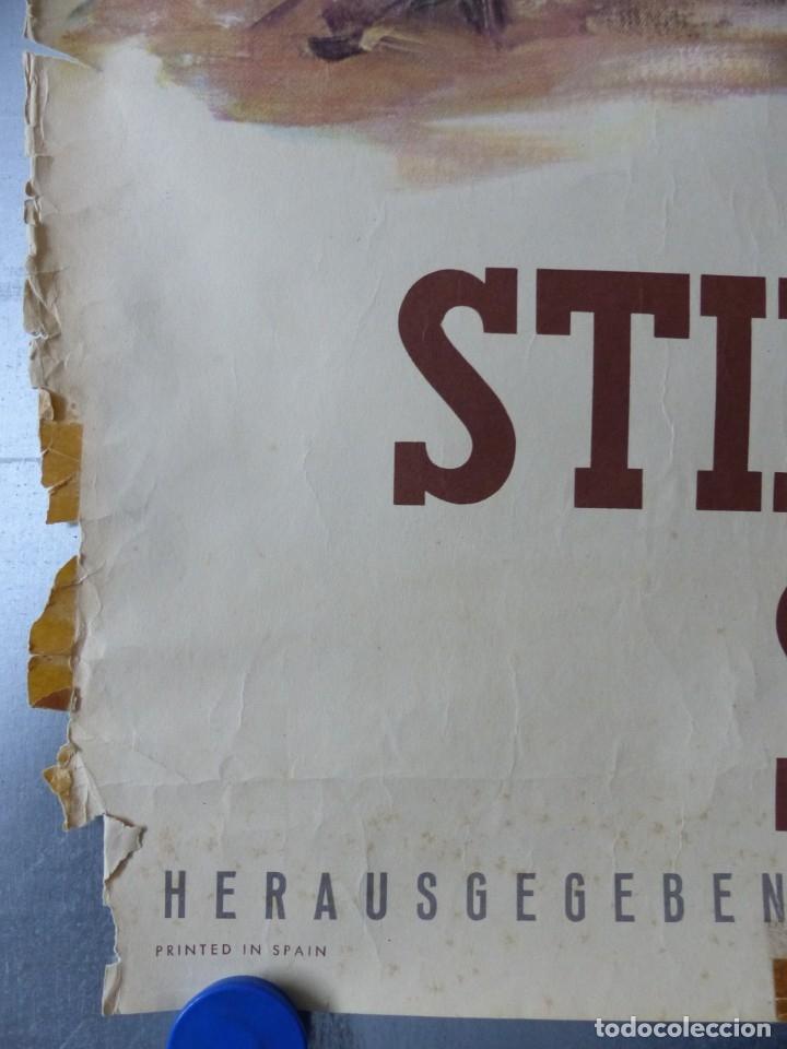 Carteles Toros: CARTEL - STIERKAMPF IN SPANIEN - TOROS EN ESPAÑA, AÑOS 1960 - J. REUS - Foto 3 - 172221235