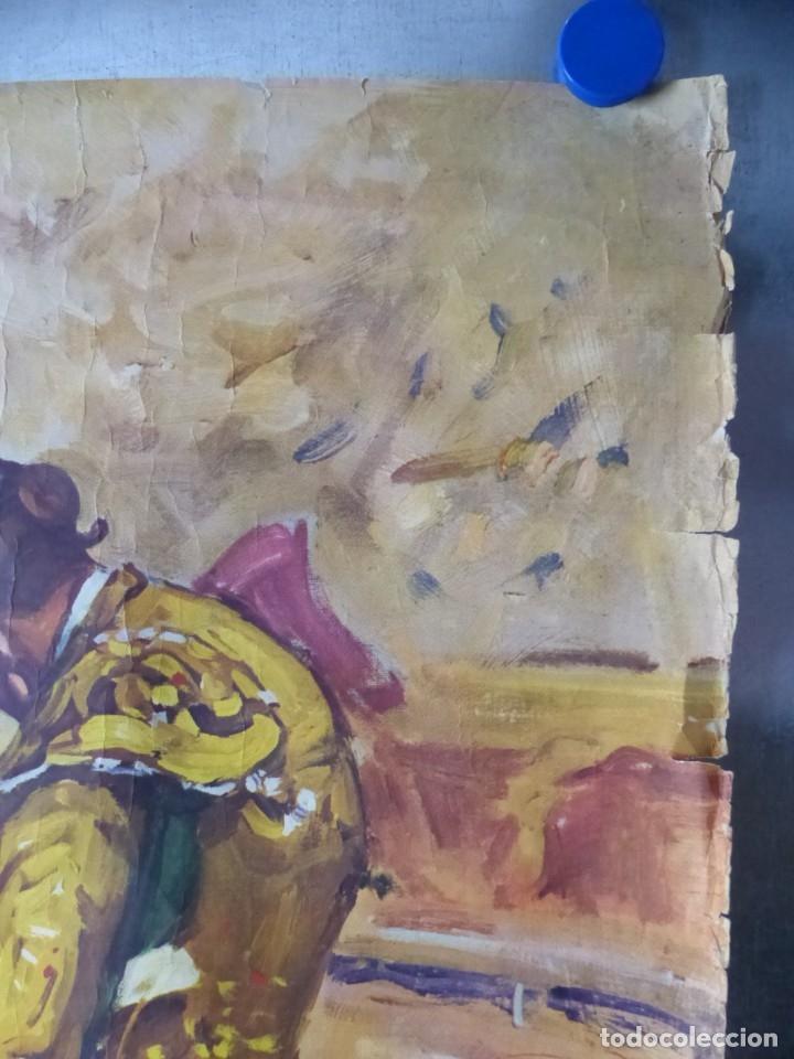 Carteles Toros: CARTEL - STIERKAMPF IN SPANIEN - TOROS EN ESPAÑA, AÑOS 1960 - J. REUS - Foto 7 - 172221235