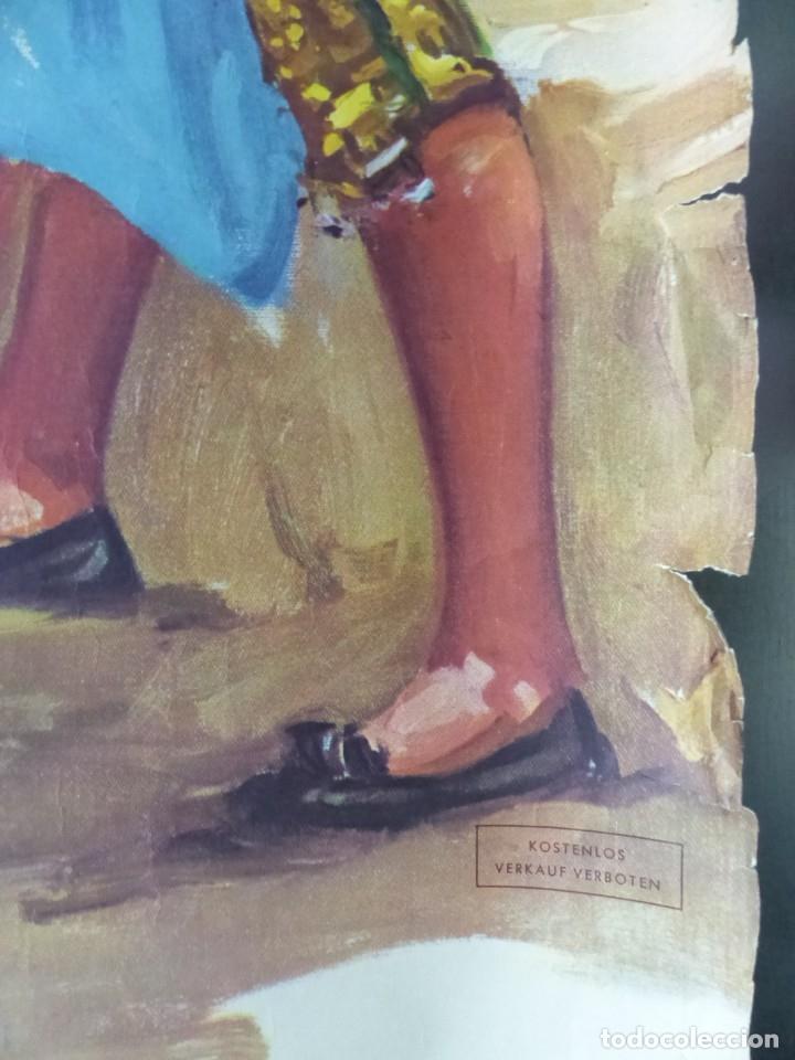 Carteles Toros: CARTEL - STIERKAMPF IN SPANIEN - TOROS EN ESPAÑA, AÑOS 1960 - J. REUS - Foto 9 - 172221235