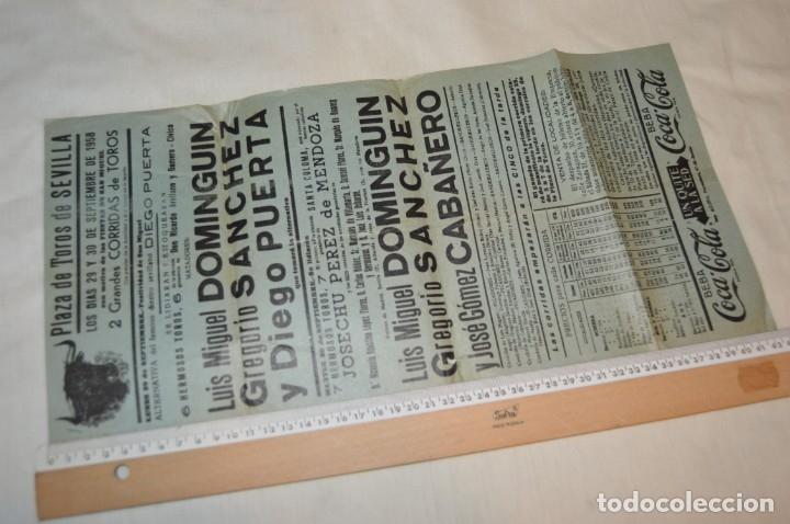 Carteles Toros: Plaza de toros de MÁLAGA - Año 1958 - Lote Carteles de toros originales y otros documentos ¡Mira! - Foto 5 - 172281634