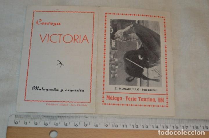 Carteles Toros: Plaza de toros de MÁLAGA - Año 1963/64 - Lote Carteles de toros originales y otros documentos ¡Mira! - Foto 34 - 172304320