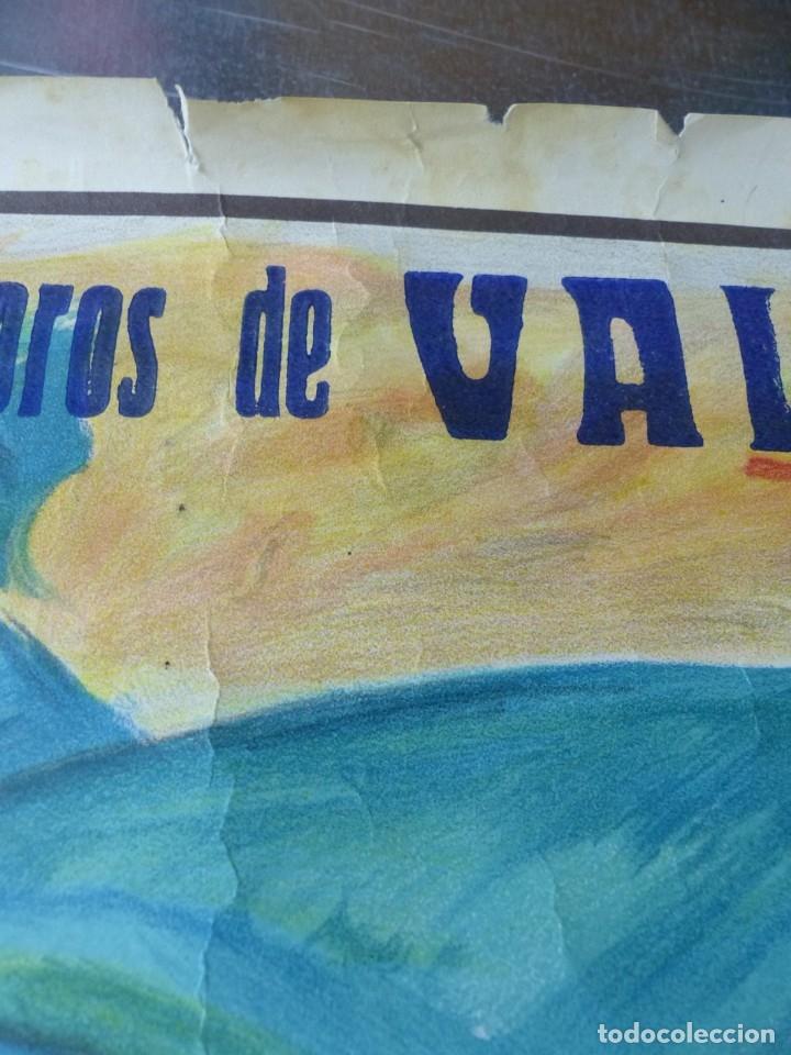 Carteles Toros: VALENCIA - CARTEL DE TOROS - LITOGRAFIA - AÑO 1966, CROS ESTREMS - Foto 6 - 172640394