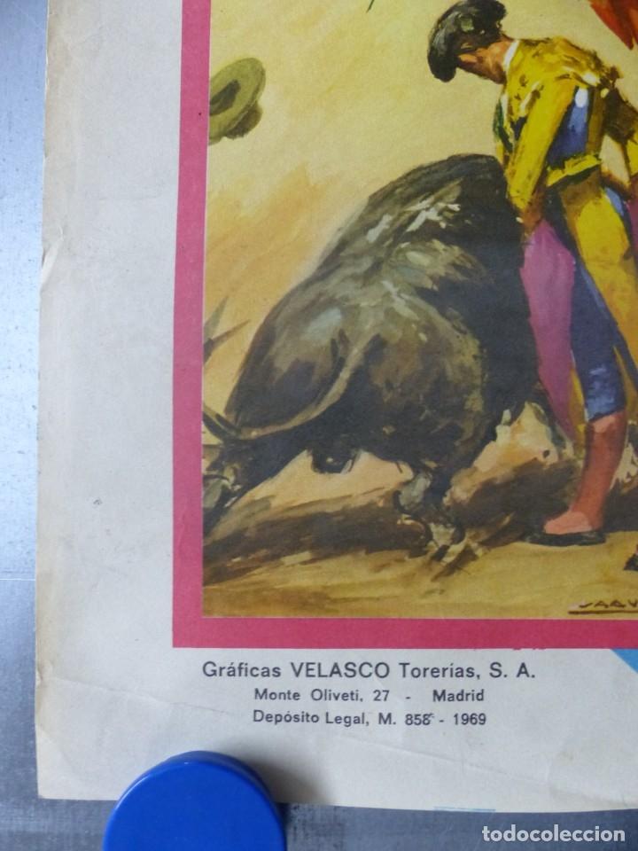 Carteles Toros: ELDA, ALICANTE - CARTEL DE TOROS - AÑO 1969, SAAVEDRA - Foto 5 - 172640562