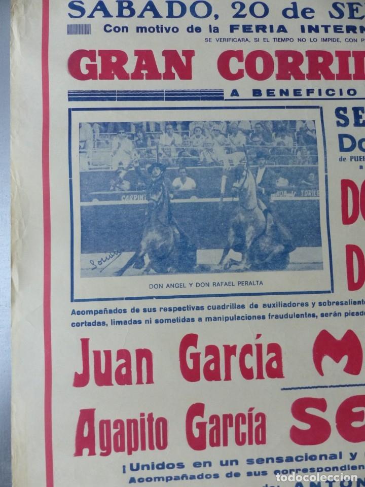 Carteles Toros: ELDA, ALICANTE - CARTEL DE TOROS - AÑO 1969, SAAVEDRA - Foto 6 - 172640562